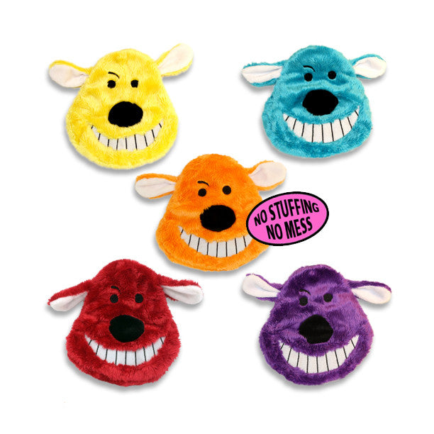 Loofa Dog Unstuffed Head Dog Toy, , Toy, Small Dog Mall, Small Dog Mall - Good things for little dogs.  - 1