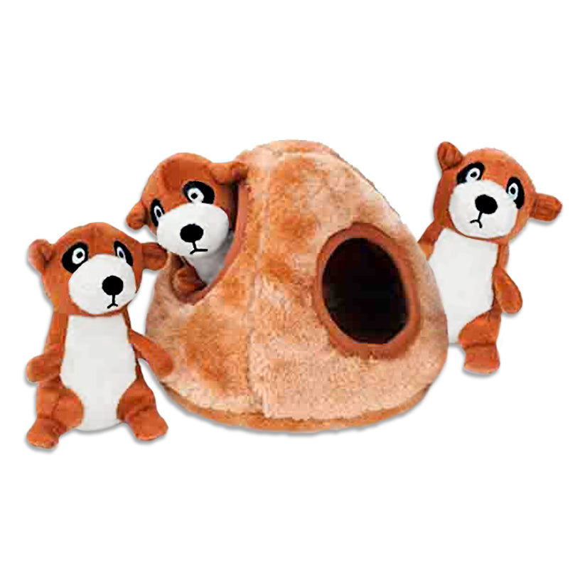 Zippy Paws Meercat Den Small Dog Puzzle Toy