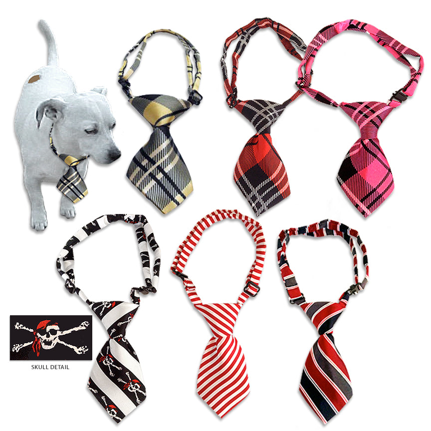 Dapper Dog Neckties for Dogs