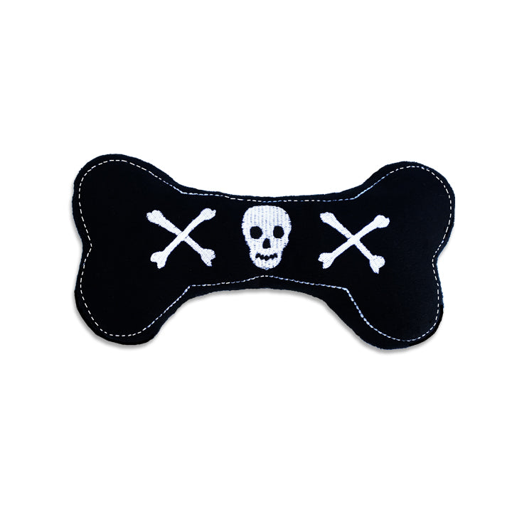 Skull Bone Small Dog Toy