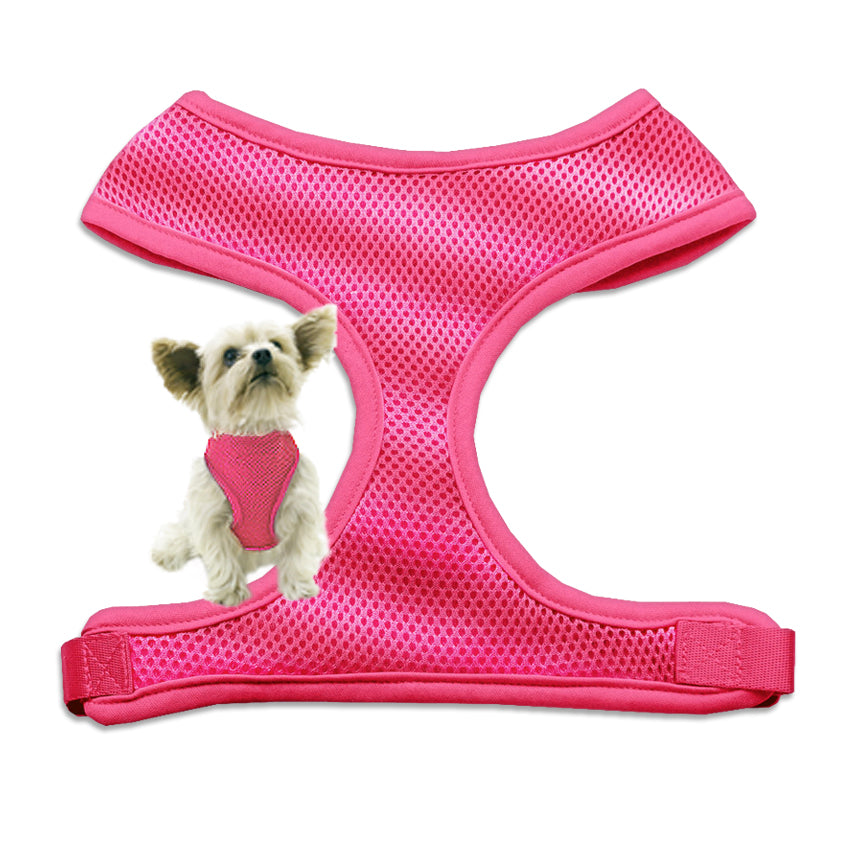 Pink Mesh Small Dog Harness