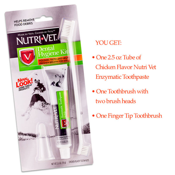 Nutri Vet Dog Oral Hygiene Kit