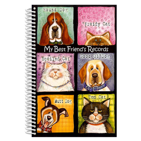 Dog or Cat Life Record Book