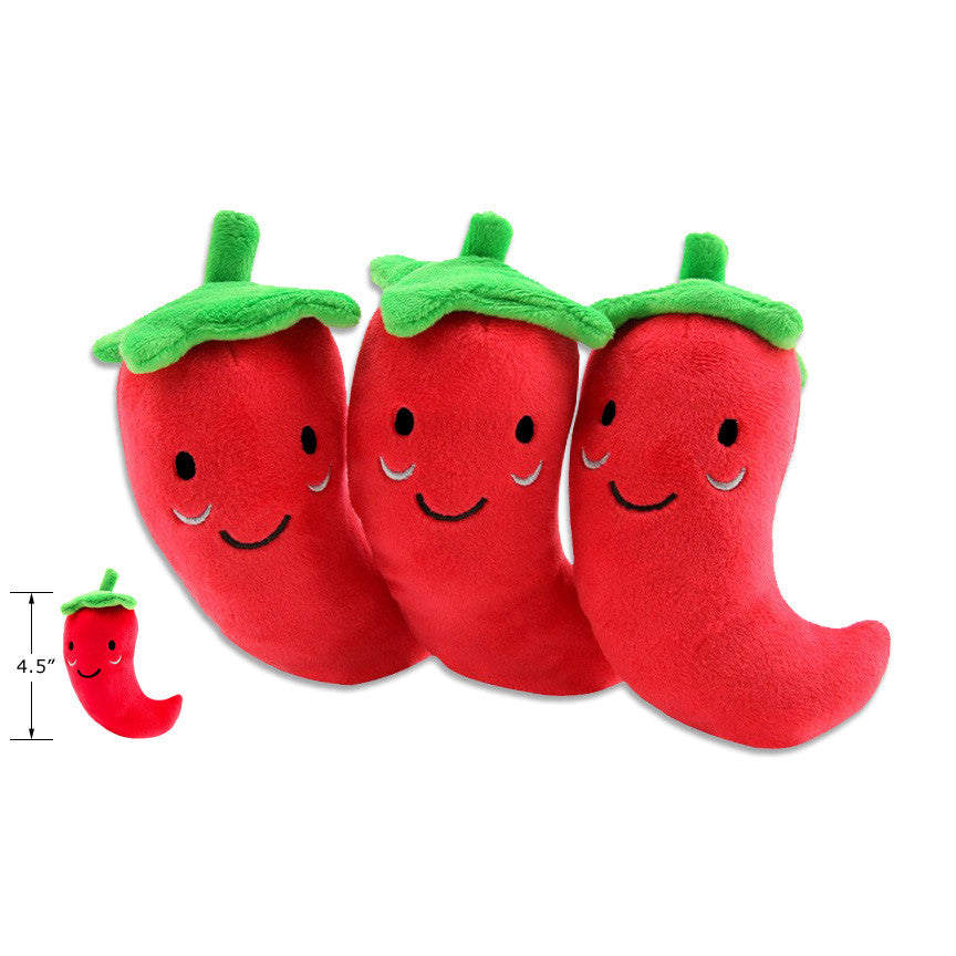 Red Hot Chili Pepper Small Dog Toy, Small Dog Mall