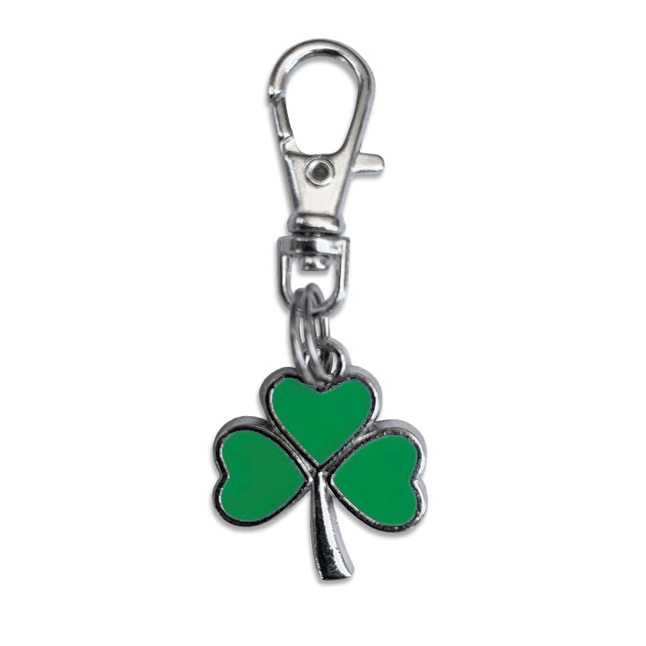 Shamrock Clover Dog Collar Charm