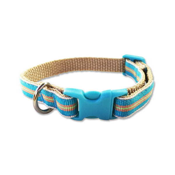 Yipes, Stripes! Puppy Collar, , Collar, Small Dog Mall, Small Dog Mall - Good things for little dogs.  - 1