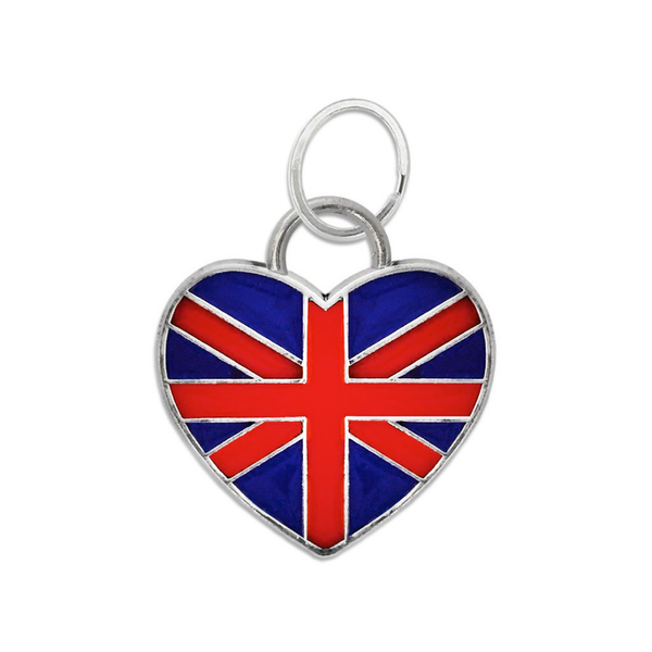 Heart of the UK Dog Collar Charm