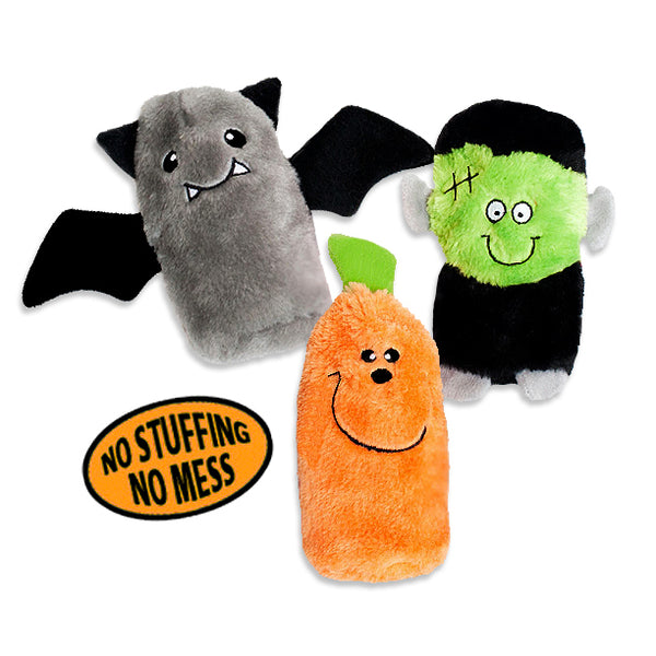 Zippy Paws No Stuffing Spooky, Scary, Chilly Halloween Small Dog Toys