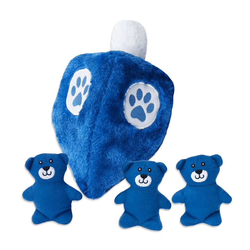 Zippy Paws Dreidel Burrow Small Dog Puzzle Toy