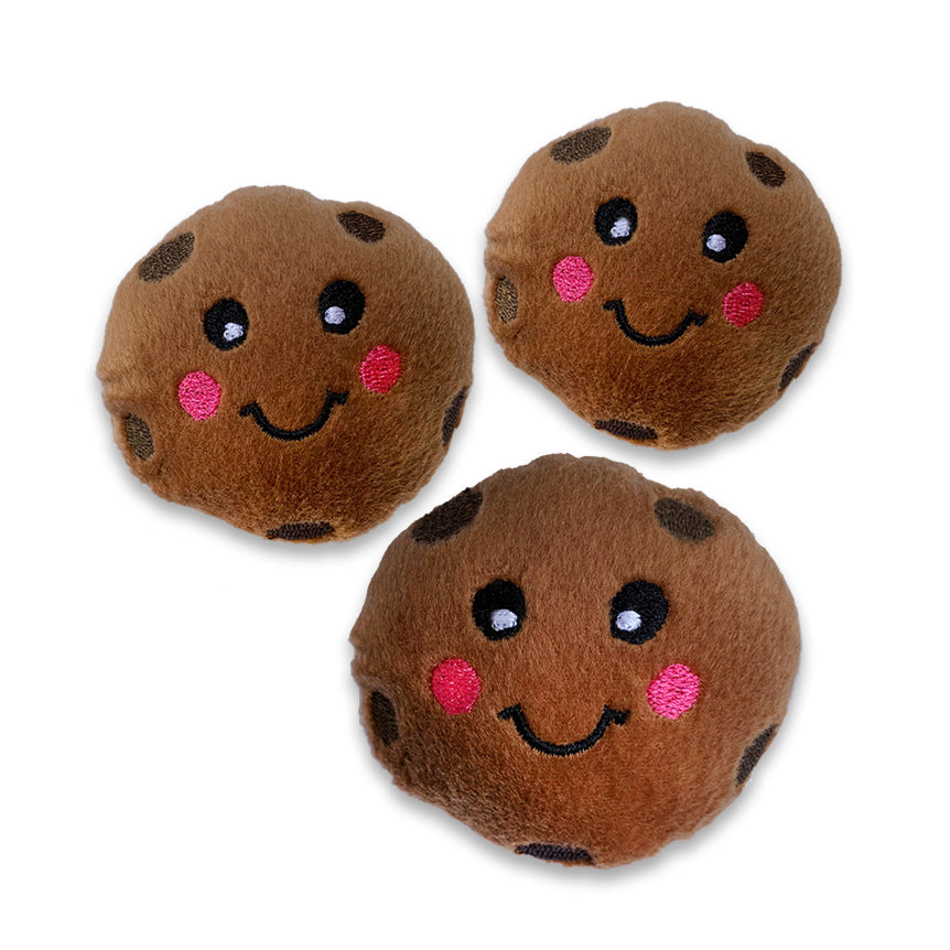 Mini Size Chocolate Chip Cookie Small Dog Toy