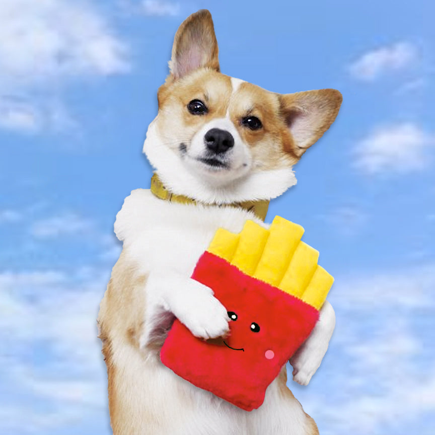 Zippy Paws French Fry Fun Small Dog Toy