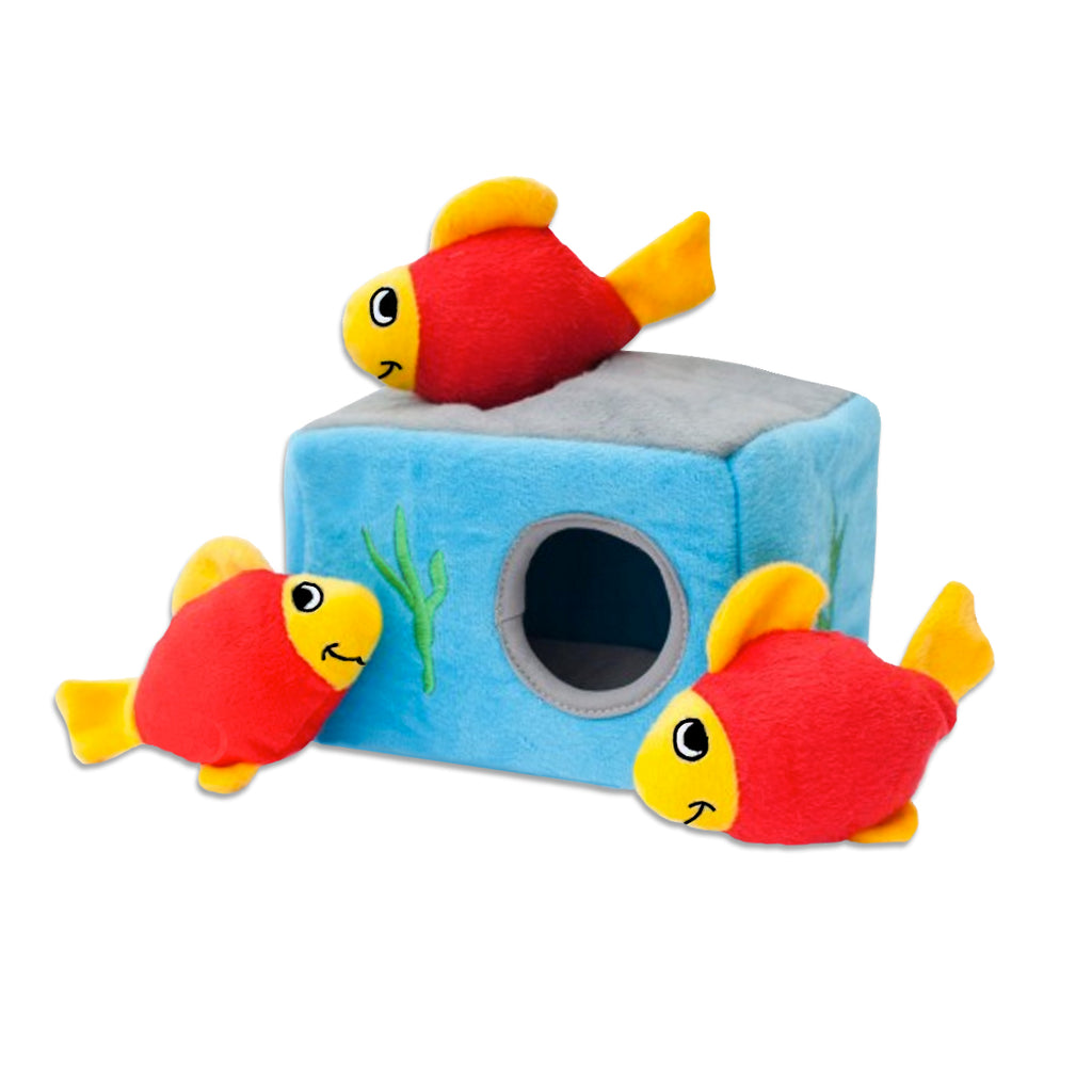 Zippy Paws Burrow Fish Aquarium Small Dog Puzzle Toy