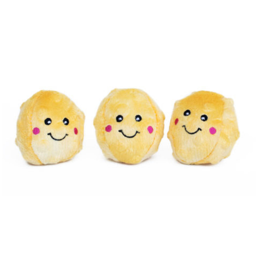 Cute Mini Buttered Popcorn Small Dog Toy