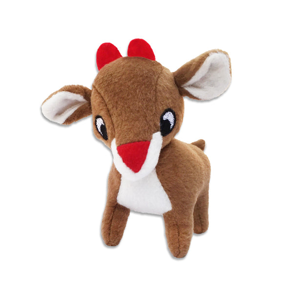 Mini Rudolph Small Dog Toy