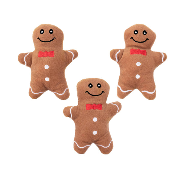 Gingerbread Boy Small Dog Toy