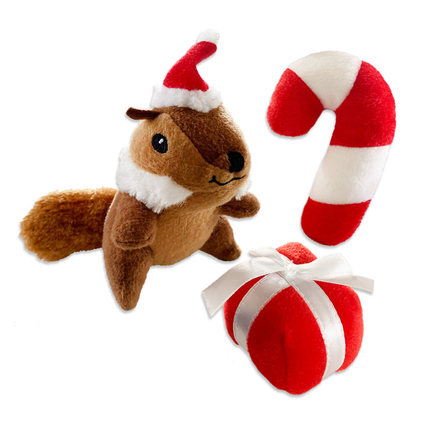 Zippy Paws Christmas Minis Small Dog Toy