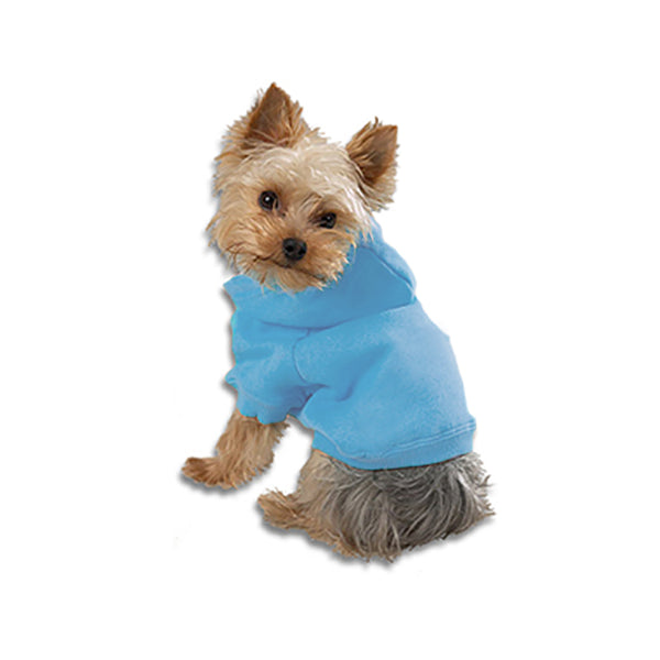 Blue Small Dog Sweatshirt Hoodie