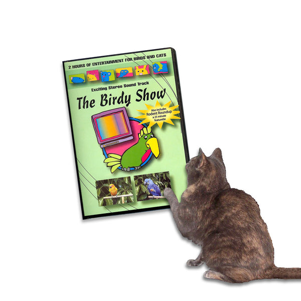 The Birdie Show & Rodent Roundup! Cat Video, , Kitty, Small Dog Mall, Small Dog Mall - Good things for little dogs.