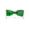 Lucky Green Dog Bow Tie, , Collar, Small Dog Mall, Small Dog Mall - Good things for little dogs.  - 2