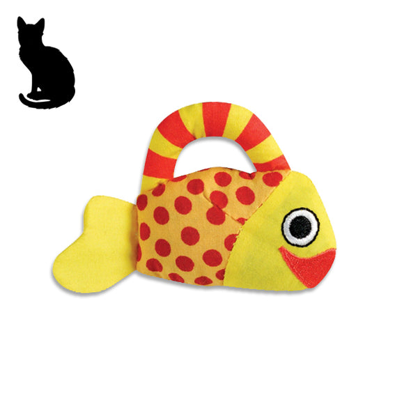Carry Critter Fish Cat Toy