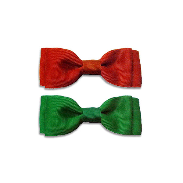 Christmas Bow Tie Collars for Dogs, , Christmas, Small Dog Mall, Small Dog Mall - Good things for little dogs.  - 1