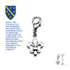 Fleur De Lis Dog Collar Charm, , Collar Pendant, Small Dog Mall, Small Dog Mall - Good things for little dogs.  - 2