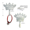 Crown Dog Gear Hooks, , People Pleasers, Small Dog Mall, Small Dog Mall - Good things for little dogs.  - 2