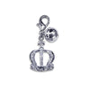 Crown & Bell Dog Collar Charm, , Collar Pendant, Small Dog Mall, Small Dog Mall - Good things for little dogs.  - 1
