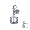 Crown & Bell Dog Collar Charm, , Collar Pendant, Small Dog Mall, Small Dog Mall - Good things for little dogs.  - 2