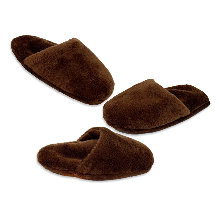 Cuddly Plush Brown Mini Slipper Tea Cup & Small Dog Toy