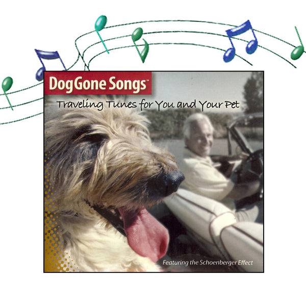 DogGone Songs Traveling Tunes CD, , People Pleasers, Small Dog Mall, Small Dog Mall - Good things for little dogs.  - 1