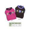Academy Argyle Dog Sweater - Small Dog Mall - Good things for little dogs. - 2