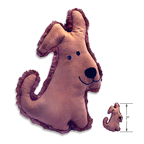 Organic Flat Katz Dog, , Toy, Small Dog Mall, Small Dog Mall - Good things for little dogs.  - 2