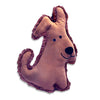 Organic Flat Katz Dog, , Toy, Small Dog Mall, Small Dog Mall - Good things for little dogs.  - 1
