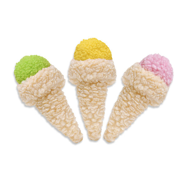 Fleecy Cones Small Dog Toy, Toy, Small Dog Mall, Small Dog Mall - Good things for little dogs.  - 1