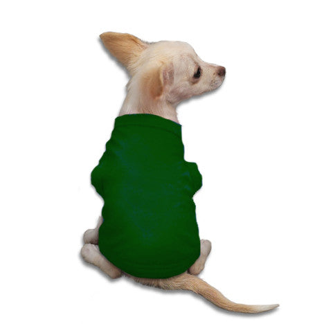 Forrest Tank Style Dog T-Shirt, , Tee, Small Dog Mall, Small Dog Mall - Good things for little dogs.  - 1