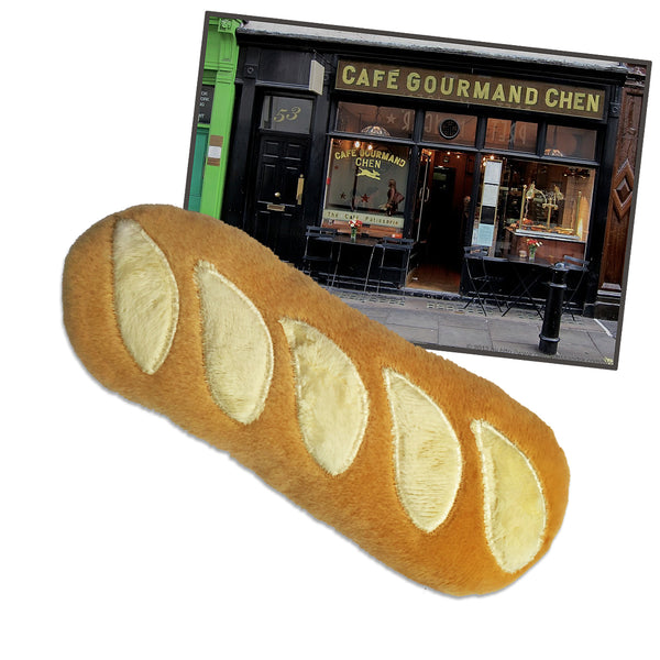 French Baguette Dog Toy