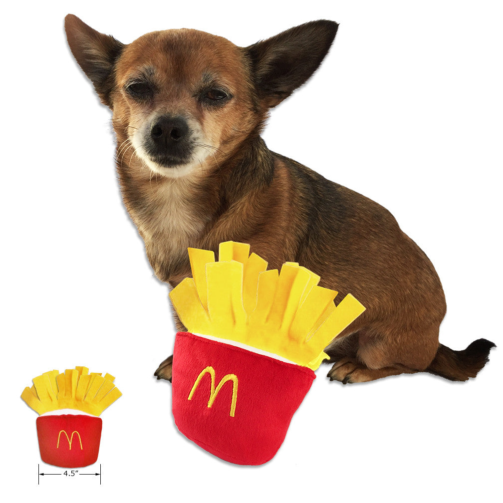 French Fry Fun Small Dog Toy