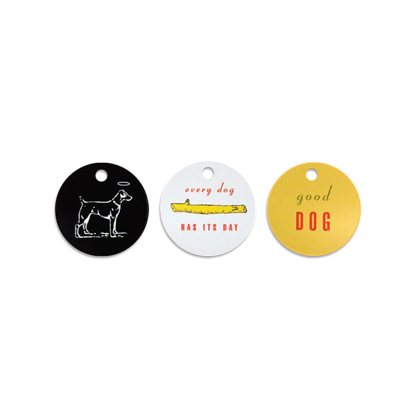 Dog Travel I.D. Tags, Set of 3, Small Dog Mall, Small Dog Mall - Good things for little dogs.  - 1