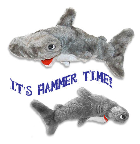 Hammerhead Shark Dog Toy, Toy, Small Dog Mall, Small Dog Mall - Good things for little dogs.  - 2