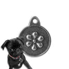 Sculpted Daisy Dog ID Tag, , ID Tag, Small Dog Mall, Small Dog Mall - Good things for little dogs.  - 1