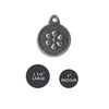 Sculpted Daisy Dog ID Tag, , ID Tag, Small Dog Mall, Small Dog Mall - Good things for little dogs.  - 2