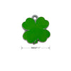 Cutout Shamrock Shape Dog ID Tag, , ID Tag, Small Dog Mall, Small Dog Mall - Good things for little dogs.  - 2