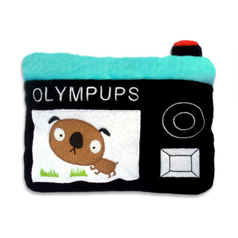 Olympups Camera Dog Toy, , Toy, Small Dog Mall, Small Dog Mall - Good things for little dogs.  - 1