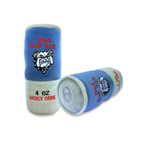 Red Bull Dog Drink Dog Toy, Toy, Small Dog Mall, Small Dog Mall - Good things for little dogs.  - 1