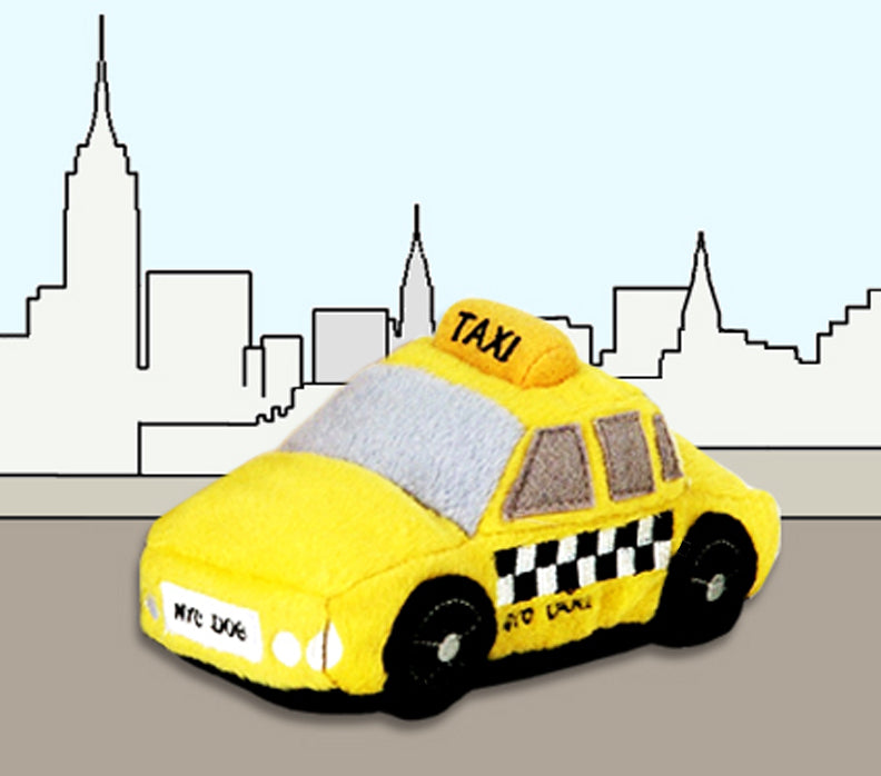 I Love NYC Taxi Toy
