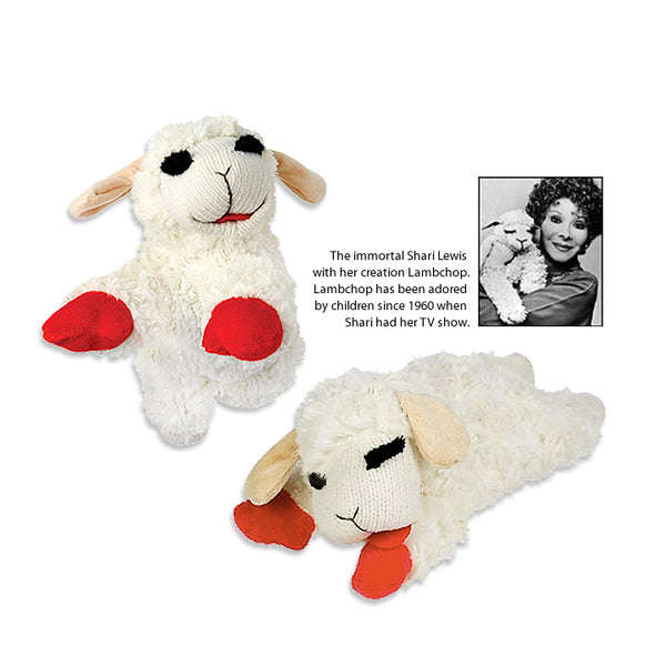 Beloved Lamb Chop, The lamb, The Legend, The Dog Toy