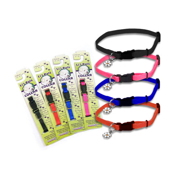Adjustable Baby's First Dog Collar, , Puppy Love, Small Dog Mall, Small Dog Mall - Good things for little dogs.  - 2