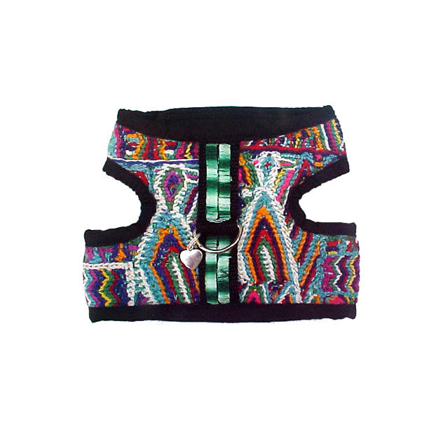 Kaleidoscope Multi Color Vest Style Dog Harness, , Harness, Small Dog Mall, Small Dog Mall - Good things for little dogs.  - 1
