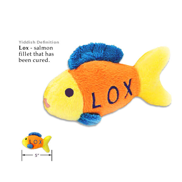 Small Dog Mall, Lox Small Dog Judaica Toy